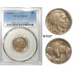 R637, United States, Buffalo Nickel (5C) 1919-S, San Francisco, PCGS XF45