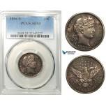 R640, United States, Barber Quarter (25C) 1894-S, San Francisco, Silver, PCGS AU53