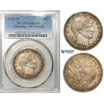 R643, United States, Barber Half Dollar (50C) 1911-D, Denver, Silver, PCGS AU Det.