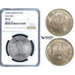 R660, Germany, Weimar, 5 Mark 1928-F, Stuttgart, Silver, NGC MS65