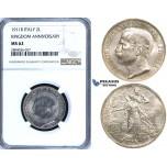 R700, Italy, Vit. Emanuelle III, 2 Lire 1911-R