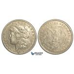 R79, United States, Morgan Dollar 1878-CC, Carson City, Silver, Toned VF
