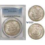 R796, United States, Morgan Dollar 1886-S, San Francisco, Silver, PCGS AU55