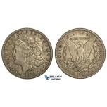 R80, United States, Morgan Dollar 1882-CC, Carson City, Silver, Toned gVF