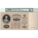 AA712, Russia, State Credit Note, 100 Roubles 1898 (ND 1898-1903) E. Pleske, Pick# 5a, PMG Ch UNC 64, Very Rare!