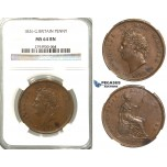 S99, Great Britain, George IV, Penny 1826, NGC MS64BN