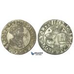 T130, Poland (for Lithuania) Sigismund II Augustus, 4 Groschen 1567-SA, Vilnius, Silver (3.82g)