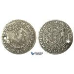 W187, Poland (for Danzig) Sigismund III, Ort 1618, Danzig, Silver (6.16g)