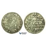 W215, Poland (for Lithuania) Sigismund III, 3 Groschen (Trojak) 1597, Vilnius, Silver (2.28g)