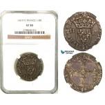 Z24, France, Henri IV, 1/4 Ecu 1607