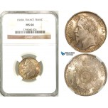 Z28, France, Napoleon III, 1 Franc 1868-A, Paris, Silver, NGC MS66