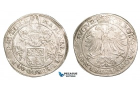 Z33, Belgium, Thoren, Charles V, Taler 1557, Silver (28.23g) Delm. 763 (R2) Rare! VF