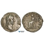 Z98, Roman Empire, Sabina. Augusta (128-136 AD) AR Denarius (3.24g) Rome (134-137 AD) Concordia, VF