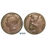 ZA19, Great Britain, Victoria, Penny 1859, aEF
