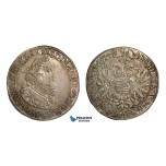 ZA51, Hungary, Ferdinand II, Taler 1634 K-B, Kremnitz, Silver (28.35g) Toned Good VF