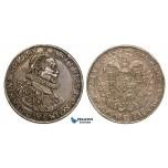 ZA73, Hungary, Matthias II, Taler 1615-KB, Kremnitz, Silver (28.58g) VF-XF with Fine Toning! Rare!