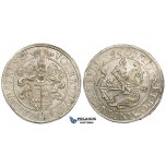 ZE30, Germany, Mansfeld, Volrat V., Johann I. and Karl I, Taler 1563, Eisleben, Silver (28.32g) Lustrous gXF