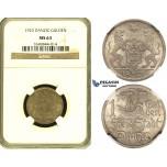 ZF48, Poland, Danzig, 1 Gulden 1923, Berlin, Silver, NGC MS63 (Slab is worn)