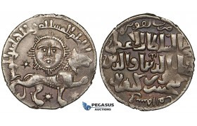ZG26, Seljuks of Rum, Kay Khusraw II, (AH 634-644). AR Dirhem (2.93 g), Siwas, AH 640. Violet toned EF