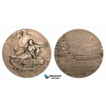 ZG89, France, Silver Medal by Jean Vernon, For the eastern railway company and the construction of the railways in eastern France