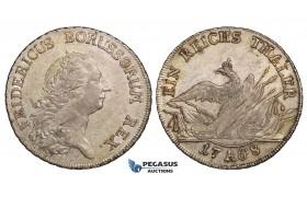 ZH22, Germany, Brandenburg-Prussia, Friedrich II, Taler 1768-A, Berlin, Silver (22.28g) Lustrous EF