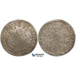 ZH24, Germany, Saxony, Christian, Johann & George, Taler 1595 HB, Dresden, Silver (28.88g) VF-EF