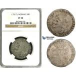 ZH49, Norway, Frederik V, 24 Skilling 1759 TL, Kongsberg, Silver, NM 15, NGC VF30