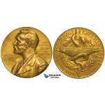 ZH94, Sweden, Alfred Nobel, Gold Medal 1972 (Ø 17mm, 19.8g) Swedish Medical Society (Medicine) Rare!