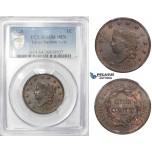 ZI11, United States, Coronet Head Cent 1828, Philadelphia, PCGS MS64BN Large Narrow Date (N-6?)