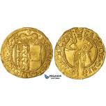 ZI85, Austria, Archduke Karl, Ducat 1578, Klagenfurt, Gold (3.44g) Lustrous aUNC