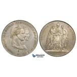 ZI86, Austria, Franz Joseph, Gulden 1854-A, Vienna, Silver, on the Marriage to Elizabeth