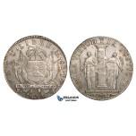 ZJ28, Peru, Republic, 8 Reales 1822 LIMA JP, Lima, Silver, Few scratches, AU, Rare!