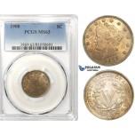 ZK44, United States, Liberty Nickel (5C) 1908, PCGS MS63