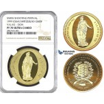 ZK79, Switzerland, Sion, ESSAI 500 Francs 1999, Gold, NGC PF70UC, Pop 1, Finest! Rare!