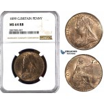 ZK95, Great Britain, Vcitoria,  Penny 1899, NGC MS64RB
