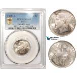 ZM178, France, Napoleon III, 1 Franc 1860-A, Paris, Silver, PCGS MS65