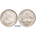 ZM727, Australia, George V, Sixpence (6P) 1919-M, Melbourne, Silver, Nice XF