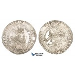 AA057, Norway, Christian IV, Speciedaler (Taler) 1639, Christiania, Silver (28.75g) NM 40, Lustrous aEF