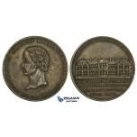AA188, Germany & Israel, Bronze Medal 1841 (Ø23mm, 4.1g) Salomon Heine, Hospital