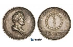 AA209, Sweden, Silver Medal ND (Ø31mm, 12.5g) by Frumerie, Medicine, A. J. Hagstromer