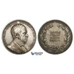AA214, Sweden, Silver Medal 1888 (Ø31mm, 14.1g) And. Fred. Regnell, Medicine