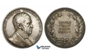 AA214, Sweden, Silver Medal 1888 (Ø31mm, 14.1g) And. Fred. Regnell, Medicine