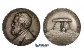 AA221, Sweden, Silver Medal 1911 (Ø31mm, 14.7g) Hildebrand, Science Academy, Archeology