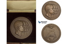 AA229, Sweden, Bronze Medal 1930 (Ø56mm, 71.2g) by Ohlson, Arctic Balloon Polar Exhibition