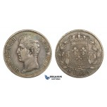AA291, France, Charles X, 5 Francs 1828-A, Paris, Silver, Toned VF