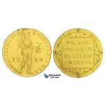 AA310, Netherlands, Trade Coinage, Ducat 1840, Utrecht, Gold (3.48g) Lustrous AU