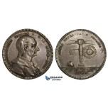 AA458, Sweden, Silver Medal 1749 (Ø32mm, 12g) by Fehrman, Christopher Polhem, Engineer