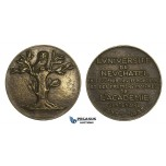 AA465, Switzerland, Bronze Medal 1938 (Ø61mm, 110g) by Huguenin, Neuchatel University, Owl