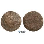 AA508, Russia, Peter III, 10 Kopeks 1762, Some corrosion, Fine