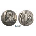 AA617, Sweden, Silver Medal 1912 (Ø60mm, 121g) by Lindberg, Life Insurance Company, Arvid Gumaelius